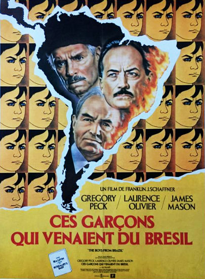 The Boys From Brazil French Movie Poster